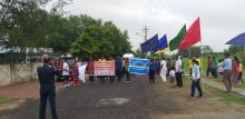 STUDENTS PARTICIPATING IN KARGIL DAY MARATHON RUN ON 27/07/2019